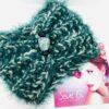 Fascia, collo, turbante , verde, turcherse