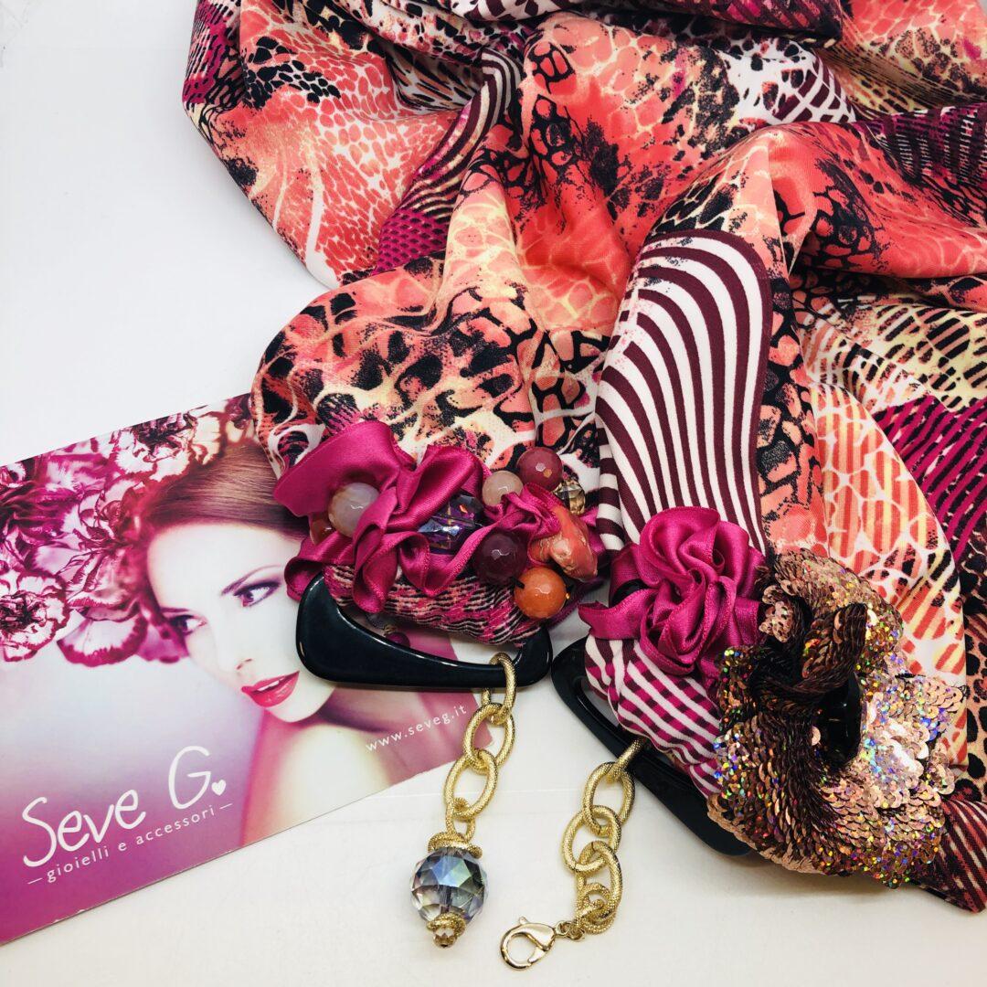 sciarpa gioiello